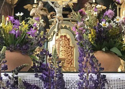 Klösterle Altag geschmückt